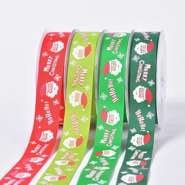 25mm Christmas ribbon