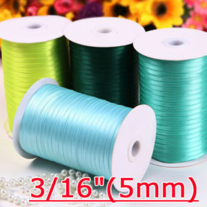 5mm Single Face Satin Ribbon