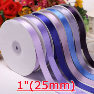 25mm Single Face Satin Ribbon