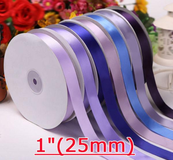 25mm Single Face Satin Ribbon