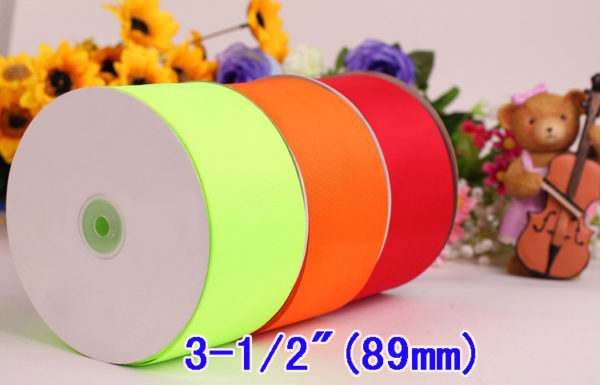 89mm Grosgrain Ribbon
